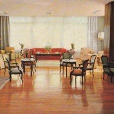 Postais: IRUN, HOTEL ALCAZAR AVENIDA DE FRANCIA, SALON. ED. SEIX Y BARRAL. SIN CIRCULAR. Lote 287336678