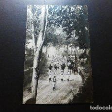Cartoline: VALMASEDA VIZCAYA BATALLON INFANTIL EN MARCHA POSTAL FOTOGRAFICA CASA LUX. Lote 287435318