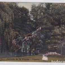 Cartoline: CASCADA DE LA FLORIDA VITORIA. EDICIÓN DE LA LIBRERÍA ESPAÑOLA. SIN CIRCULAR.. Lote 287694203