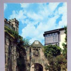 Postales: POSTAL FUENTERRABIA PUERTA DE SANTA MARÍA EDICIONES ALARDE 1968 SIN CIRCULAR. Lote 287900273