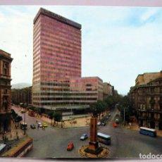 Postales: POSTAL BILBAO PLAZA ESPAÑA BANCO VIZCAYA AUTOBUS BEASCOA EXCLUSIVA SAN CAYETANO CIRCULADA SELLO 1970. Lote 287904288