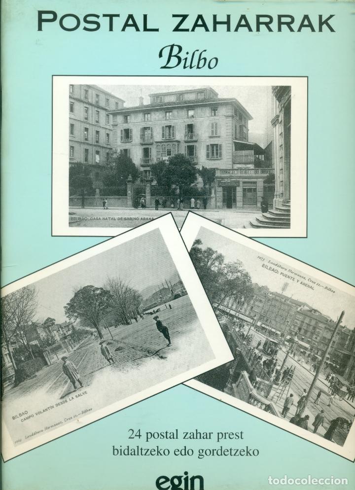 COLECCION DE 24 POSTALES DE BILBAO ZAHARRAK ( ANTIGUO) REEDICION DEL DIARIO EGIN (Postales - España - Pais Vasco Antigua (hasta 1939))