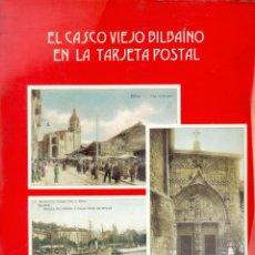 Postales: COLECCION DE 24 POSTALES DEL CASCO VIEJO DE BILBAO COLOREADAS EDICION DE LUIS AMANN. Lote 287988873