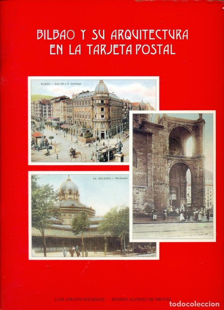 COLECCION DE 24 POSTALES DE BILBAO Y SU ARQUITECTURA COLOREADAS EDICION DE LUIS AMANN (Postales - España - Pais Vasco Antigua (hasta 1939))