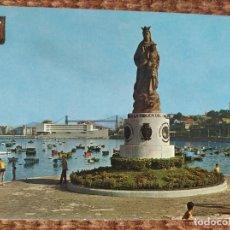 Postales: SANTURCE - VIZCAYA - MONUMENTO A LA VIRGEN DEL CARMEN. Lote 287995828