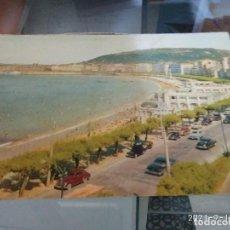 Postales: POSTAL SAN SEBASTIAN / COCHES ANTIGUOS AÑO 1958 CIRCULADA. Lote 288409368