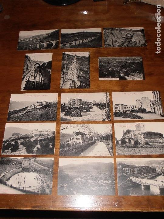 LOTE DE 15 POSTALES DE BILBAO. L. ROISIN. FOT. BARCELONA. (Postales - España - País Vasco Moderna (desde 1940))