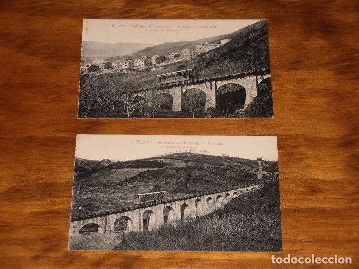 Postales: LOTE DE 15 POSTALES DE BILBAO. L. ROISIN. FOT. BARCELONA. - Foto 2 - 288504083