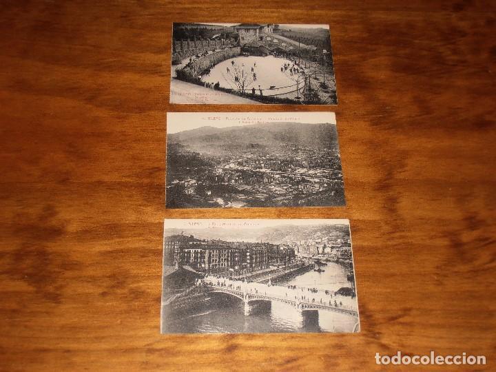 Postales: LOTE DE 15 POSTALES DE BILBAO. L. ROISIN. FOT. BARCELONA. - Foto 27 - 288504083