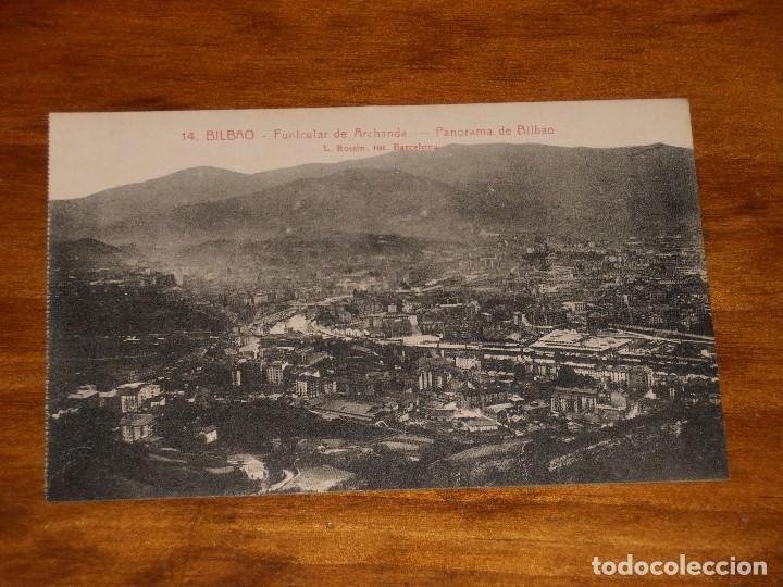 Postales: LOTE DE 15 POSTALES DE BILBAO. L. ROISIN. FOT. BARCELONA. - Foto 29 - 288504083
