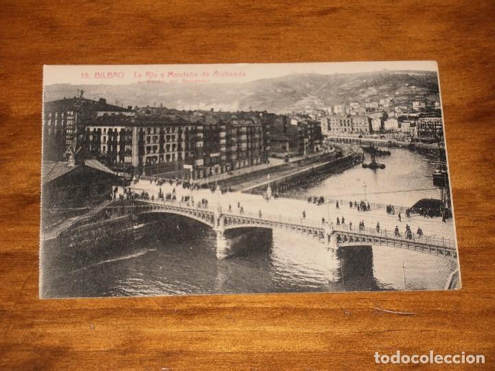 Postales: LOTE DE 15 POSTALES DE BILBAO. L. ROISIN. FOT. BARCELONA. - Foto 30 - 288504083