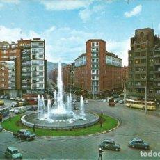 Postales: [POSTAL] FUENTE MONUMENTAL DE LA PLAZA ZABÁLBURU. BILBAO (SIN CIRCULAR). Lote 288516608