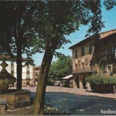 Postales: [POSTAL] PLAZA DE ESPAÑA. AYUNTAMIENTO. ELORRIO (VIZCAYA) AÑO 1971 (CIRCULADA). Lote 288529063