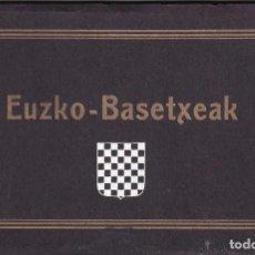 Postales: EUSKO BASETXEAK.- ÁLBUM COMPLETO 14 POSTALES ANTONIO ECHAIDE ELIZONDO. Lote 288541723