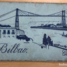 Cartes Postales: BLOC POSTAL BILBAO COLOR. HELIOTIPIA ARTISTICA ESPAÑOLA. 10 TARJETAS POSTALES. Lote 288622568