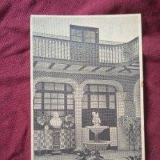 Cartoline: ELORRIO. NOVICIADO MARIANISTAS. POSTAL ANTIGUA. Lote 288643788