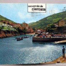 Postales: POSTAL RECUERDO CIERVANA PUERTO BEASCOA EXCLUSIVAS CAYETANO CIRCULADA SELLO AÑOS 70. Lote 288660228