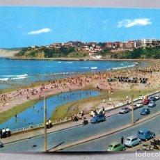 Postales: POSTAL ALGORTA PLAYA DE EREAGA SEAT 600 CITROEN DYANE EXCLUSIVAS SAN CAYETANO BEASCOA CIRCULADA 1971. Lote 288662253