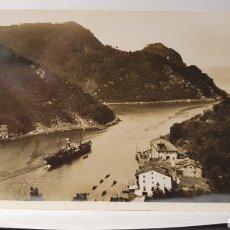 Postales: 472. SAN SEBASTIAN/ CANAL DEL PUERTO DE PASAJES/ ORIGINAL DE ÉPOCA/ ESCRITA/ ( REF.A.3). Lote 289520948