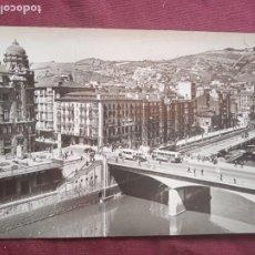Postales: BILBAO. PUBLICIDAD AL DORSO PAPELERÍA CLIPER. Lote 289568098