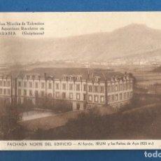 Cartoline: POSTAL SIN CIRCULAR FUENTERRABIA (GUIPUZCOA) COLEGIO DE SAN NICOLAS DE TOLENTINO EDITA VALVERDE. Lote 292541498