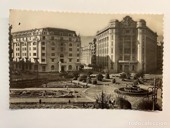 BILBAO. POSTAL NO.135, PLAZA FEDERICO MOYUA. HOTEL CARLTON. EDIC. GARCIA GARRABELLA (H.1950?) (Postales - España - País Vasco Moderna (desde 1940))