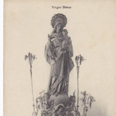 Postales: VITORIA, VIRGEN BLANCA. ED. E.J.G. PARIS IRUN. SIN CIRCULAR. Lote 294435943