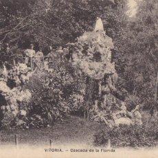 Postales: VITORIA, CASCADA DE LA FLORIDA. NO CONSTA EDITOR. SIN CIRCULAR. Lote 294436198