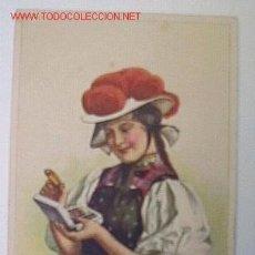 Postales: POSTAL PUBLICIDAD SEDAS GÜTERMANN. Lote 5147366