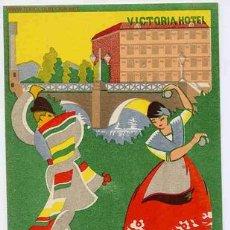 Postcards - POSTAL 38 PUBLICIDAD HOTEL VICTORIA MURCIA - 26457939