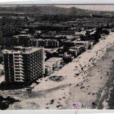 Postales: COMARRUGA PLAYA ( TARRAGONA ) PARTE DETRAS PUBLICIDAD . Lote 4036446