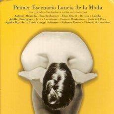 Postales: POSTAL PUBLICITARIA DEL PRIMER ESCENARIO LANCIA DE LA MODA (PALENQUE, SEVILLA).. Lote 24200448
