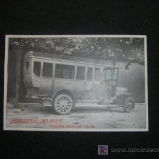 Postales: CARROCERIAS GELABERT CHASSIS HISPANO SUIZA. Lote 9821291