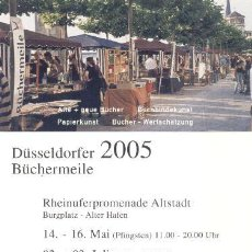 Postales: POSTAL DUSSELDORF FERIA DEL PAPEL. Lote 5170889