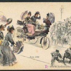 Postales: TP PUBLICIDAD MERCEDES *MERCEDES BENZ 1888* NUEVA.. Lote 5172884