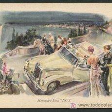 Postales: TP PUBLICIDAD MERCEDES *MERCEDES-BENZ 300 S* NUEVA.. Lote 5172956