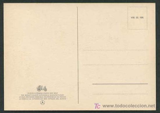 Postales: TP publicidad Mercedes *Mercedes-Benz 300 S* Nueva. - Foto 2 - 5172956