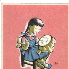 Postales: CAJA PARA LA VEJEZ Y DE AHORROS DE CATALUÑA Y BALEARES - BODAS DE ORO - 1904/1954. Lote 27615811