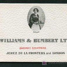 Postales: ALCOHOL *WILLIAMS & HUMBERT LTD. JEREZ DE LA FRONTERA AND LONDON* SET OF 6 POST-CARDS.. Lote 5313884