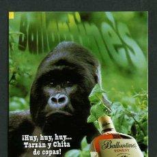 Postales: ALCOHOL *BALLANTINE´S - AHORA ES TU MEJOR MOMENTO* IMP. POSTALFREE. NUEVA.. Lote 5317237