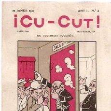 Postales: POSTAL PUBLICIDAD PERIODICO CU-CUT . Lote 5884951