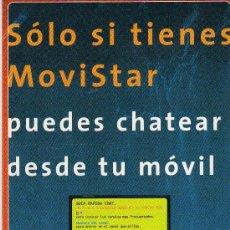 Postales: POSTAL MOVISTAR ACTIVA. Lote 6433122