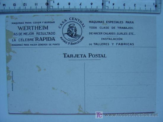 Postales: MAQUINAS DE COSER WERTHEIM - Foto 2 - 21971563