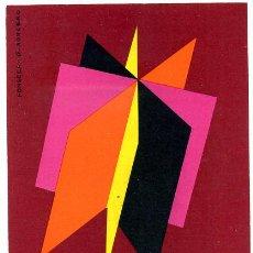 Postales: POSTAL PUBLICITARIA FERIA NACIONAL DEL LIBRO, 1965, CARTEL, P21391. Lote 24383746