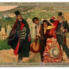 Postales: POSTAL PUBLICIDAD GALLETAS Y BIZCOCHOS LA GLORIA , CROMO, P16401. Lote 26410728