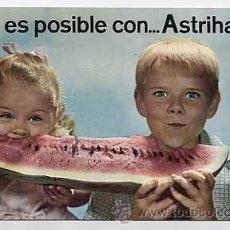 Postales: POSTAL PUBLICIDAD DE FARMACIA ASTRIHARINA. Lote 8391077