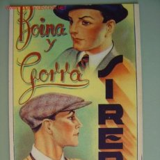 Postales: BOINA Y GORRA SIREP. Lote 21952345