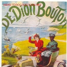 Postales: DE DION BOUTON. Lote 24909775