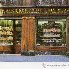 Postales: CASA MIRA - HIJOS SUCESORES DE LUIS MIRA - MADRID OCTUBRE DE 2002 -. Lote 9947064