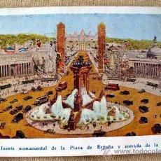 Postales: POSTAL EXPOSICION INTERNACIONAL DE BARCELONA, ALMACENES JORBA. Lote 24944467